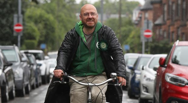 Scottish Greens co-convener Patrick Harvie has called on the Scottish Government to develop a Green New Deal (Andrew Milligan/PA)