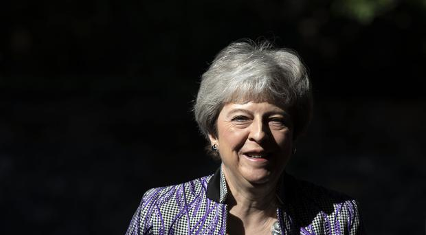 Prime Minister Theresa May (Steve Parsons/PA)