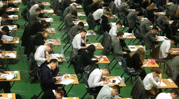Reform Scotland say the Curriculum for Excellence risks opening an attainment gap due to a drop in exams state school pupils can sit (Gareth Fuller/PA)