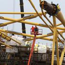 BiFab's yard in Methil in Fife requires new contracts to help boost the workforce (Andrew Milligan/PA)