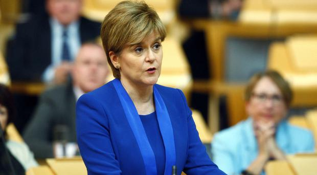 First Minister Nicola Sturgeon will make a statement to the Scottish Parliament about plans for Independence (Andrew Cowan/PA)