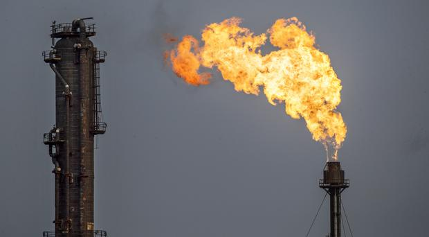 There has been unplanned flaring at ExxonMobil Chemical's Fife ethylene plant (Jane Barlow/PA)