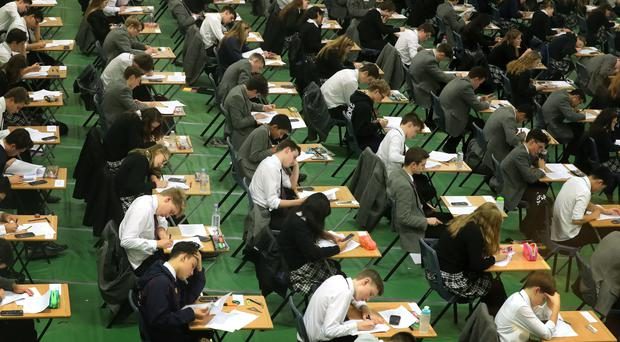 A file of evidence has been passed to prosecutors over the 2017 leak of an Edexcel maths A-level paper (Gareth Fuller/PA)