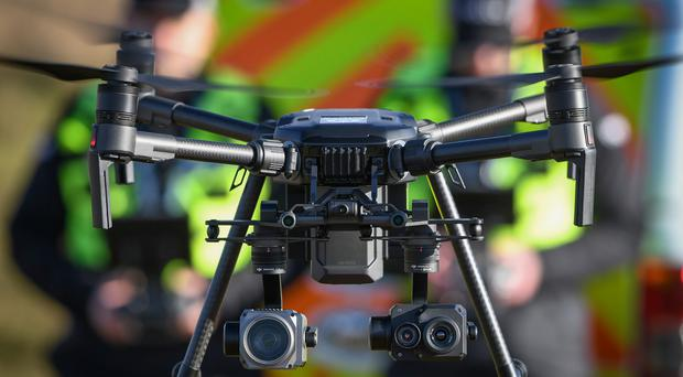 The drones will begin use on May 1 (Police Scotland)