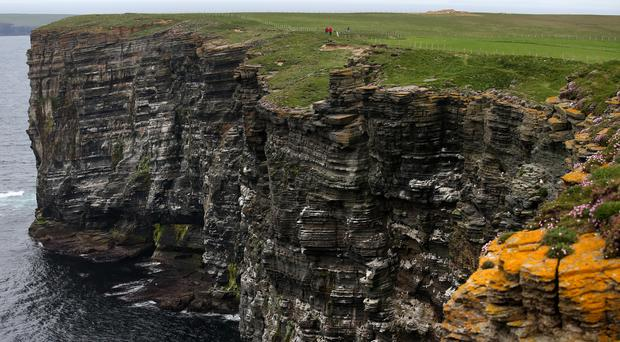 The incident happened off the Orkney coast (Andrew Milligan/PA)