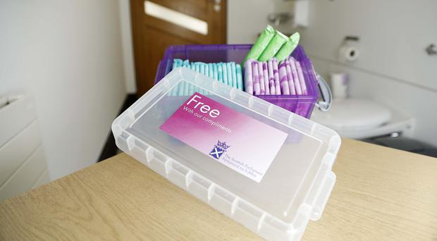 New legislation that would give women a legal right to access free sanitary products has been lodged at Holyrood (Scottish Parliament/PA)