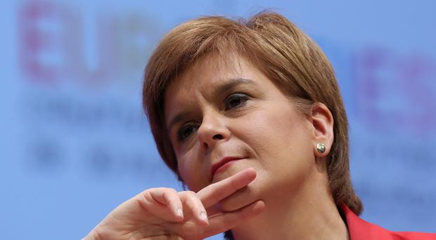 Nicola Sturgeon is to make a 'substantive' statement on Scotland's future in the wake of the latest Brexit developments (Andrew Milligan/PA)