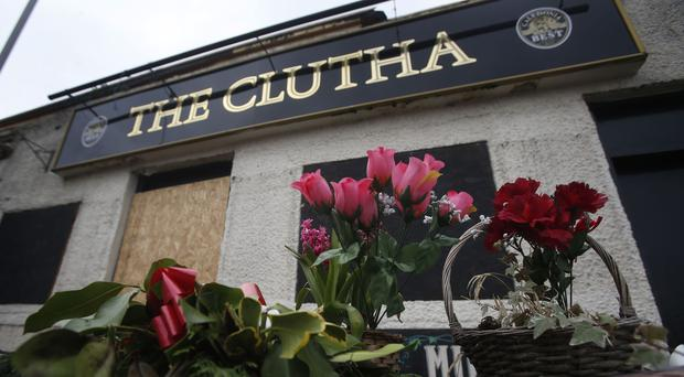 The Clutha bar in Glasgow was largely destroyed after a police helicopter crashed on to the roof in November 2013 (Andrew Milligan/PA)