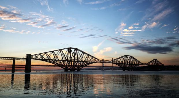 A new tourism strategy has been launched for the three Forth bridges (Jane Barlow/PA)