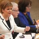 Nicola Sturgeon said Brexit made change for Scotland 'inevitable'. (Jane Barlow/PA)
