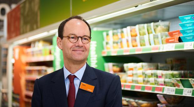 Sainsbury's boss Mike Coupe is now under intense pressure (Simon Tang/Sainsbury's/PA)