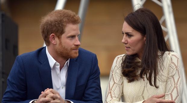 The Duke of Sussex and the Duchess of Cambridge will both be at the Anzac Day service (Andrew Parsons/Sunday Times/PA)