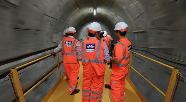 Crossrail was due to be completed by December 2018 (Jonathan Brady/PA)