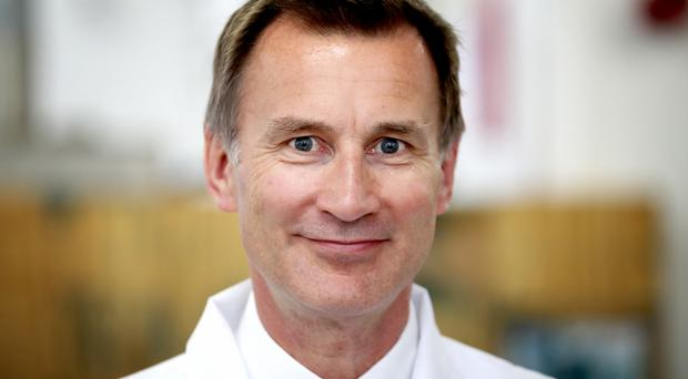 Jeremy Hunt supported Remain in the 2016 EU referendum (Jane Barlow/PA)