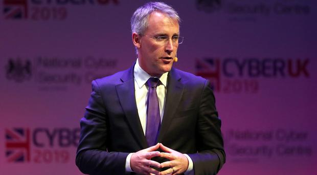 Ciaran Martin during the CyberUK conference in Glasgow (Andrew Milligan/PA)