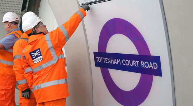 The first part of Crossrail is scheduled to open by March 2021 at the latest (Transport for London/PA)