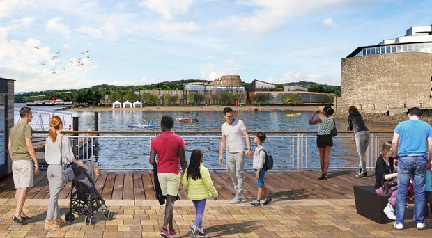 The proposals include a pier on the banks of Loch Lomond (ADS Limited/PA)