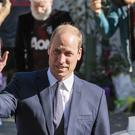 William visits the Al Noor mosque, one of the mosques involved in the mass shooting, in Christchurch last month David Alexander/SNPA via AP)
