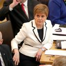Nicola Sturgeon appeared to suggest her govenment could push for a second independence referendum, even if Brexit is halted. (Jane Barlow/PA)