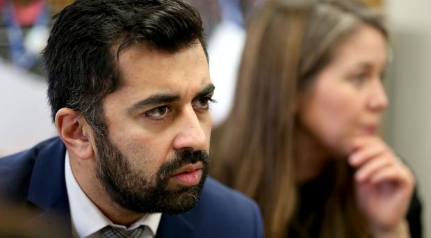 Scottish Justice Secretary Humza Yousaf has announced funding for mentor schemes to support people leaving prison (Jane Barlow/PA)