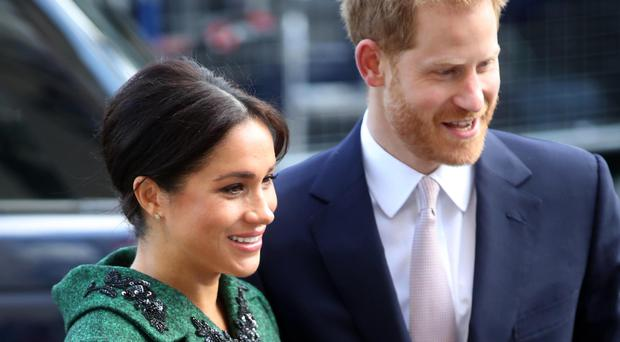 Royal fans were on edge after receiving notifications of new posts on Harry and Meghan's Instagram account (Chris Jackson/PA)