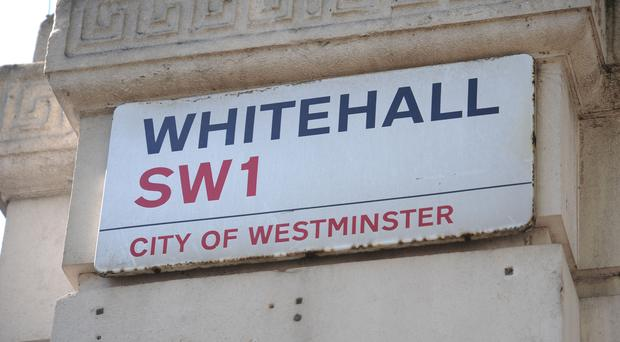 There has been anger in Whitehall about the leak (Lauren Hurley/PA)