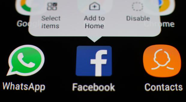 Facebook, which also owns WhatsApp and Instagram, is the world's largest social networking platform (Yui Mok/PA)