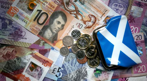 The SNP wants an independent Scotland to have its own currency (Jane Barlow/PA)