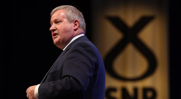 SNP Westminster leader Ian Blackford accused Jeremy Corbyn of a failure of leadership on Brexit (Andrew Milligan/PA)