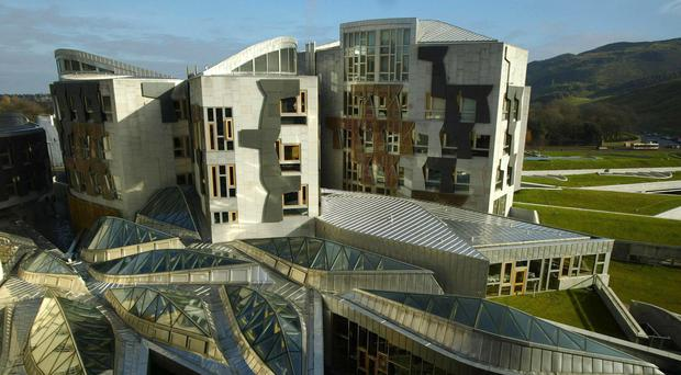 Enric Miralles cited upturned boats as one of the inspirations for the design of the Holyrood building (David Cheskin/PA)