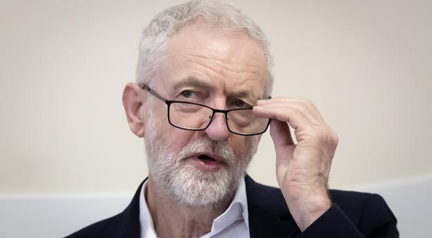 Labour leader Jeremy Corbyn is embroiled in a new row over anti-Semitism (Danny Lawson/PA)