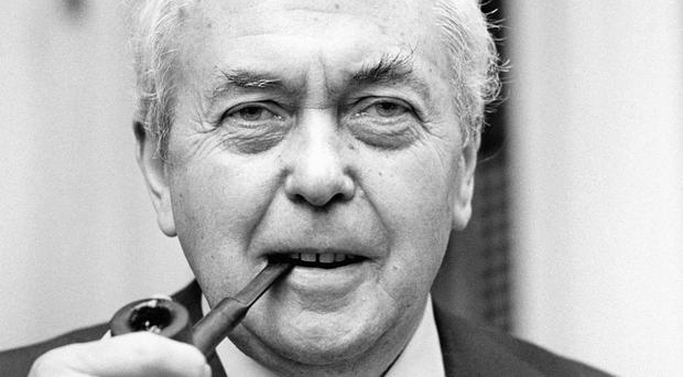 Hundreds of items which belonged to Harold Wilson, including several of the late prime minister's pipes, will be up for auction in Staffordshire next week (PA)