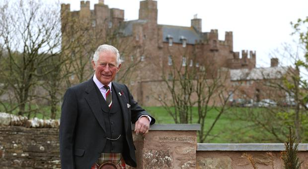The Prince's Foundation worked to create the Granary Lodge (Andrew Milligan/PA)
