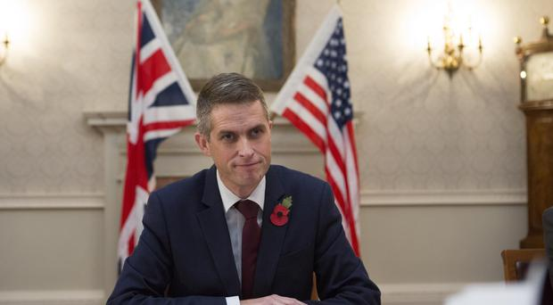 Defence Secretary Gavin Williamson (Rick Findler/PA)