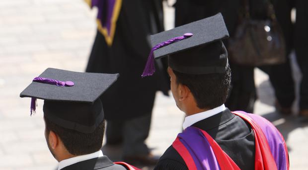 A student's race and ethnicity can significantly affect their degree outcomes, the joint report suggested (Chris Ison/PA)