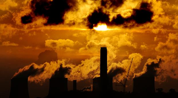 Greenhouse gas emissions must be cut to zero by 2050, Government advisers have said (Rui Vieira/PA)