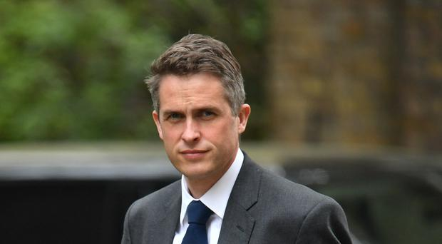 Gavin Williamson strenuously denied he was behind the leak (Dominic Lipinski/PA)