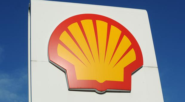 Oil giant Royal Dutch Shell has seen a fall in profits in the first quarter (Anna Gowthorpe/PA)
