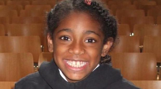 Ella Kissi-Debrah, 9, died in 2013 following three years of seizures and asthma attacks (Family handout/PA)