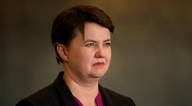 Ruth Davidson said she will fight to win the Scottish election in 2021 (Jane Barlow/PA)