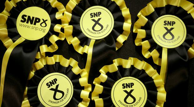 Tne SNP's Steve Rome has won a by-election in Dundee (Jane Barlow/PA)