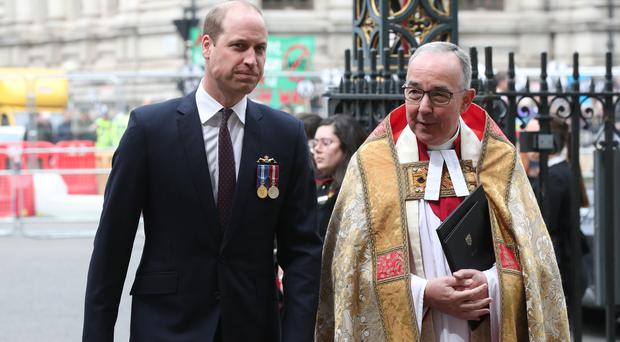 The Duke of Cambridge attended a service at Westminster Abbey to recognise fifty years of continuous deterrent at sea (Jonathan Brady/PA)