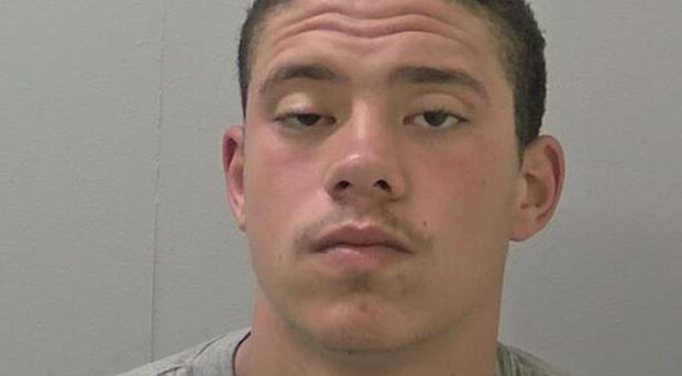Darius Woodstock, 19, was sentenced to seven years (West Mercia Police/PA)e.