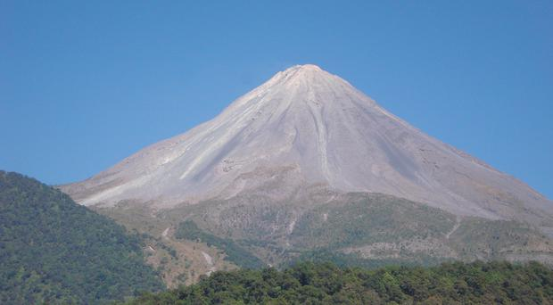 Research was carried out by volcanologists from the British Geological Survey (BGS/PA)