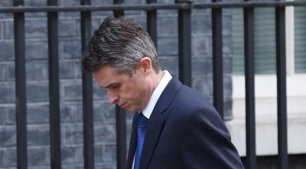 Gavin Williamson was sacked as defence secretary (Jonathan Brady/PA)