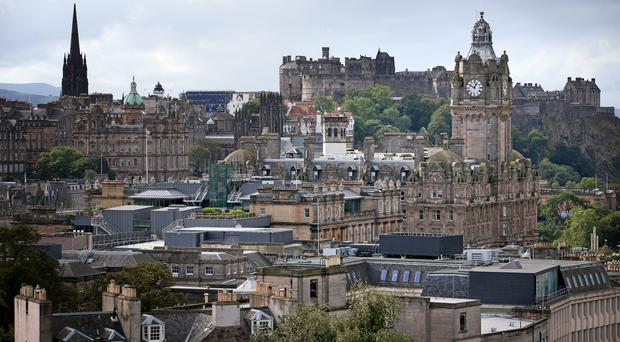 Some streets in Edinburgh were closed to traffic for Open Streets on Sunday (Jane Barlow/PA)