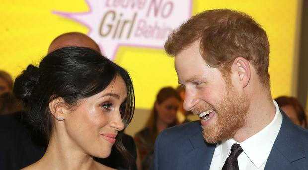 Harry and Meghan are expecting their first child (Chris Jackson/PA)