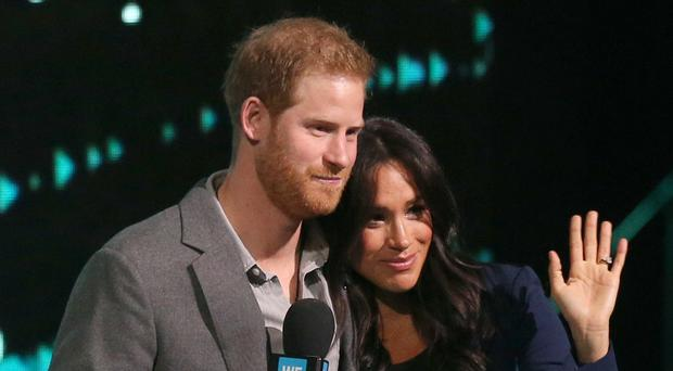 Harry and Meghan will be getting to know their newborn (Jonathan Brady/PA)
