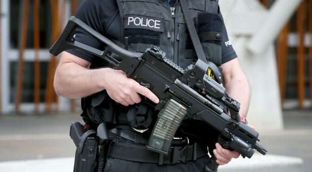 Armed police were called to more than 5,000 incidents when their specialist training was not required (Jane Barlow/PA)