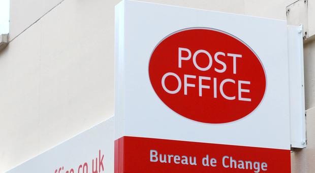 The thief struck at a Post Office in Bearsden, Glasgow, on Monday (Lewis Stickley/PA)